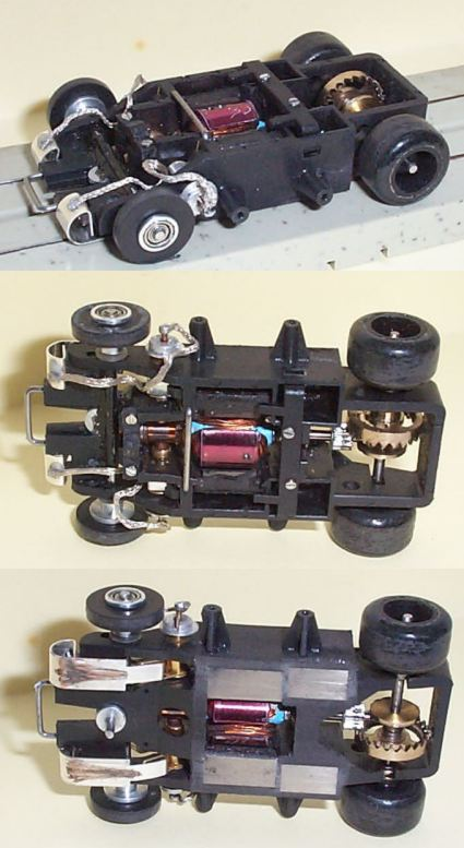 how to break in slot car motors