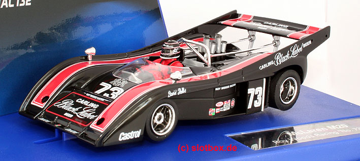 carrera 30524 digital 132 mclaren m20 1973 ry wood schwarz 73 mit
