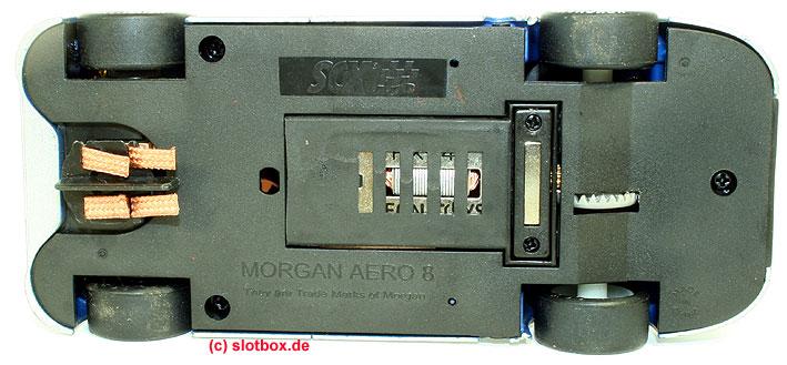 Morgan Aero 8 blau silber 80