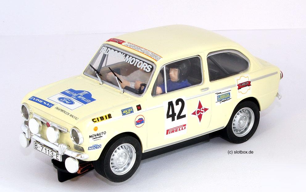 Seat Fiat 850 beige 42 von SCX