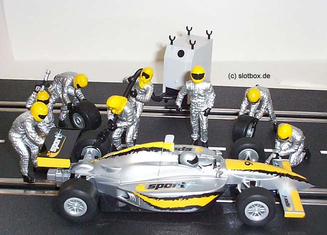 Indy Dallara Sport  6 mit Figuren